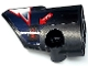 Part No: 87080pb068  Name: Technic, Panel Fairing # 1 Small Smooth Short, Side A with White 'TOW' on Red Arrow, Red and White Lightning Stripes Pattern (Sticker) - Set 42109