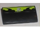Part No: 88930pb004  Name: Slope, Curved 2 x 4 x 2/3 with Bottom Tubes with Pistons Skull Logo Pattern (Sticker) - Set 8211