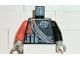Part No: 973pb0052c01  Name: Torso Alpha Team Logo, Orange Stripe, Shoulder Ropes Pattern / Black Arm Left / Orange Arm Right / Light Gray Hands