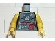 Part No: 973pb0053c01  Name: Torso Alpha Team Logo on Necklace, Dark Gray Vest, Tools Pattern / Yellow Arms / Yellow Hands