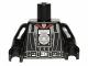 Part No: 973pb1382c01  Name: Torso SW Darth Vader Imperial Logo Medal Pattern / Black Arms / Black Hands