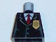 Lot ID: 190417808  Part No: 973px468  Name: Torso Police Jacket with Gold Badge and Red Tie Pattern