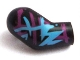 Part No: 982pb024  Name: Arm, Right with Magenta and Medium Azure Marking Pattern