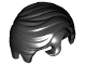 Part No: 98726  Name: Minifigure, Hair Swept Right with Front Curl
