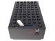 Part No: bb0045c02pb01  Name: Electric 4.5V Battery Box 6 x 11 x 3 Type II for 1-Prong & 2-Prong Connectors with Red Dot Pattern
