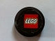 Part No: bb0116pb01  Name: Sports Hockey Puck, Large with Lego Logo Pattern (Sticker)