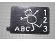 Part No: bb0257pb01  Name: Duplo Slide Chalk Board Pattern
