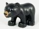Part No: bearcubc01pb02  Name: Duplo Bear Baby Cub with Medium Nougat Muzzle Pattern