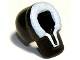 Part No: x205px1  Name: Minifigure, Headgear Hood Fur-lined with White Fur Pattern