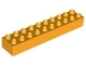 Part No: 2291  Name: Duplo, Brick 2 x 10