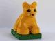 Part No: 2334c03pb01  Name: Duplo Lion Cub on Base