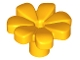 Part No: 32606  Name: Friends Accessories Flower with 7 Thick Petals and Pin