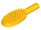 Part No: 3852b  Name: Minifigure, Utensil Hairbrush - Short Handle (10mm)