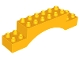 Part No: 51704  Name: Duplo, Brick 2 x 10 x 2 Arch