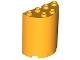Part No: 6259  Name: Cylinder Half 2 x 4 x 4
