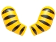 Part No: 981982pb054  Name: Arm, (Matching Left and Right) Pair with 5 Black Stripes (Tiger) Pattern