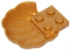 Part No: 18970  Name: Clam / Scallop Shell with 4 Studs