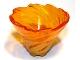 Part No: 50663pb01  Name: Tornado Spiral with Trans-Orange Top Pattern