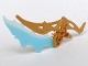 Part No: 64269pb01  Name: Bionicle Weapon Ornate with Translucent Light Blue Blade (Tarix)