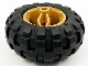 Part No: 66155c04  Name: Wheel 30.4mm D. x 20mm with Center Axle Holes Motorcycle and Black Tire 56 x 26 Balloon (66155 / 55976)