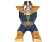 Part No: bb0686c01pb01  Name: Body Giant, Thanos with Dark Blue Outfit and Lavender Face Pattern