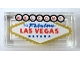 Part No: 3069bpb0669  Name: Tile 1 x 2 with Groove with 'WELCOME TO Fabulous LAS VEGAS NEVADA' Pattern