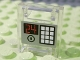Part No: 4346pb14  Name: Container, Box 2 x 2 x 2 Door with Slot and Keypad and '24' Pattern (Sticker) - Set 7776