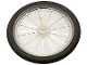 Part No: 4720c01  Name: Wheel Bicycle with Black Tire (4720 / 2807) (2-Piece Wheel)