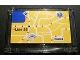 Part No: 64453pb001  Name: Windscreen 1 x 6 x 3 with City Map Pattern (Sticker) - Set 8404