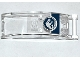 Part No: 92474pb003  Name: Windscreen 6 x 2 x 2 with Handle with Head-Up Display (HUD), Gauges and Jurassic World Logo Pattern (Sticker) - Set 75919