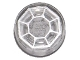 Part No: 98138pb024  Name: Tile, Round 1 x 1 with Octagon (Arkenstone) Pattern