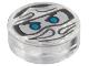 Part No: 98138pb046  Name: Tile, Round 1 x 1 with Ninjago Trapped Zane Pattern