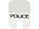 Part No: bb0057pb01  Name: Windscreen, Motorcycle Windshield with 'POLICE' Pattern