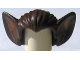 Part No: 10301pb01  Name: Minifigure, Hair Bat Ears and Medium Nougat Inner Ear Pattern