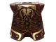 Part No: 2587pb29  Name: Minifigure, Armor Breastplate with Leg Protection, LotR King Theoden Pattern