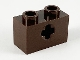 Part No: 32064  Name: Technic, Brick 1 x 2 with Axle Hole
