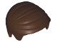Part No: 99930  Name: Minifigure, Hair Short Combed Sideways Part Left