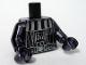 Part No: 973pb0516c02  Name: Torso SW Darth Vader Death Star Pattern / Chrome Black Arms / Chrome Black Hands
