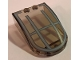 Part No: 18973pb08  Name: Windscreen 6 x 4 x 1 Curved with Gray Star Wars Skimmer Pattern