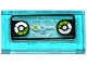 Part No: 3069bpb0456  Name: Tile 1 x 2 with Groove with Lime and Silver Head-Up Display (HUD) and 2 Gauges Pattern (Sticker) - Set 70173
