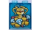 Part No: 4066pb482  Name: Duplo, Brick 1 x 2 x 2 with Trophy, Jewelry and Gold Coins Pattern