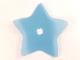 Part No: clikits234  Name: Clikits, Icon Accent Plastic Star 8 1/8 x 8 1/8