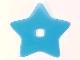 Part No: clikits267  Name: Clikits, Icon Accent Plastic Star 6 3/8 x 6 3/8