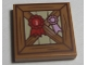 Part No: 3068bpb1116  Name: Tile 2 x 2 with Groove with Wooden Fence and Red 1st Place Ribbon Pattern (10746)