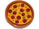 Part No: 4150pb165  Name: Tile, Round 2 x 2 with Pizza Pepperoni Pattern