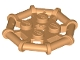 Part No: 75937  Name: Plate, Modified 2 x 2 with Bar Frame Octagonal, Reinforced, Completely Round Studs