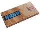 Part No: 87079pb0890  Name: Tile 2 x 4 with Blue and Red Rectangles Pattern (Sticker) - Set 10272