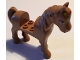 Part No: 93083c01pb16  Name: Horse with 2 x 2 Cutout, Medium Nougat Eyes Pattern