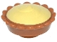 Part No: 93568pb002  Name: Pie with Bright Light Yellow Cream Filling Pattern
