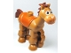 Part No: horse04c01pb01  Name: Duplo, Animal Horse 'Bullseye'